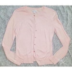 NY&CO pink cardigan